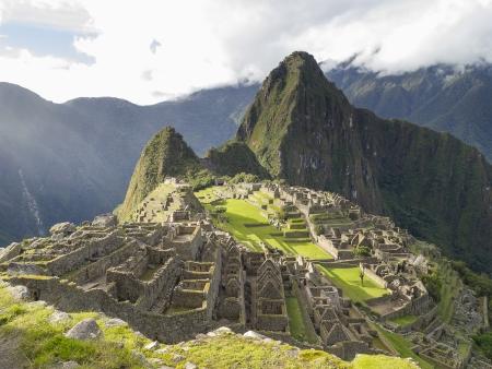 Machu Picchu, the lost city of the Andes in Cusco, Peru