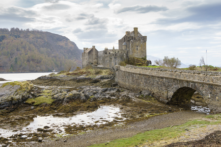 Eilean Donan Castle, Kyle of Lochalsh, Highland, Scotland, United Kingdom.