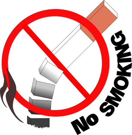 admonester: Ne pas fumer