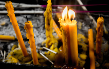 cinders: candles