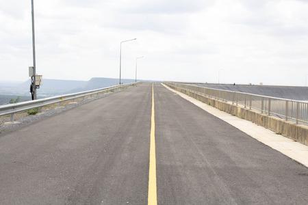 guard rail: roadway