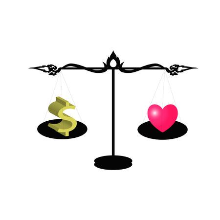 love of money: love vs money