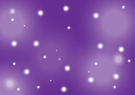The purple background has sparkling stars.