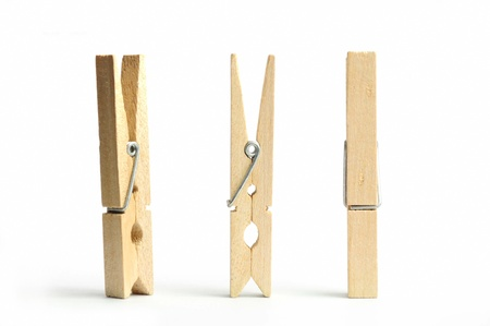 pegs: wooden clothes pin