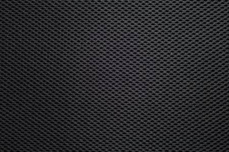 Mesh-Faser Synthetische Textur, Farbe: Schwarz Hintergrund Standard-Bild