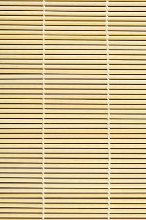 Close up of bamboo mat background Stock Photo - 9784909
