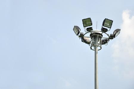 light pole on blusky background Stock Photo - 12198971
