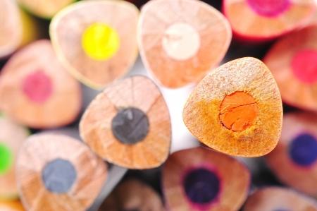 Die Enden der Farbe Pastell Standard-Bild - 15915044