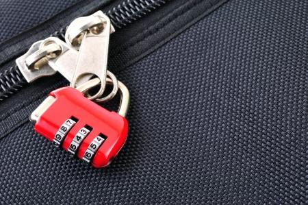 Number combination padlock  photo