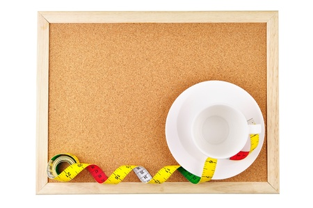 Raum für Notizen Ernährung Standard-Bild - 16408264
