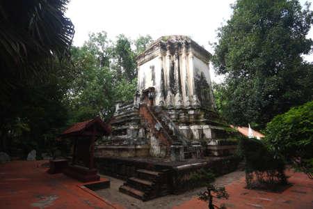 ratchaburi: The old pagoda in Ratchaburi province, Thailand.