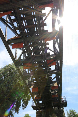 Under of Death Railway, River Kwai Bridge, Kanchanaburi, Thailand. Stock Photo - 7780644