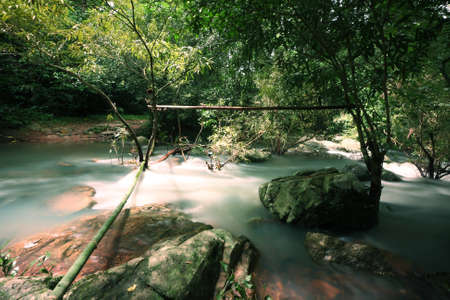 The stream in Jad Kod forest, Saraburi province, Thailand. Stock Photo - 7780592