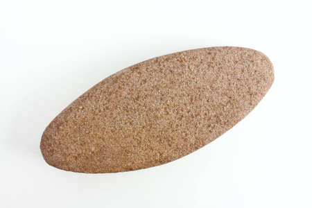 Soft stone for clean up your skin on white paper. photo