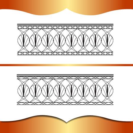 forge: Metal forging. An element of interior or exterior design. Illustration