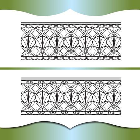 forging: Metal forging. An element of interior or exterior design. Illustration