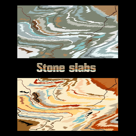 Stone for interior decoration or background.