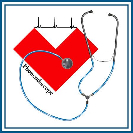 Cardiogram. Phonendoscopes.
