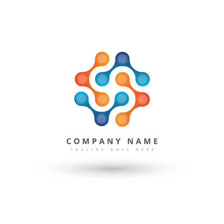 Nano technology logo template