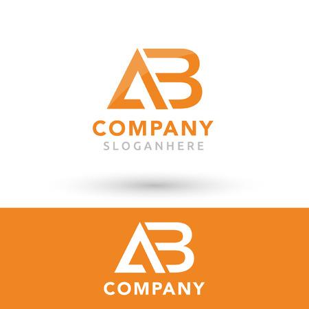 AB company logo Stock Vector - 111186775