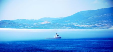 View from Gibraltar across the bay. Stock Photo - 9722940