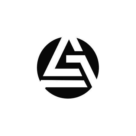 Initial letter ga logo or ag logo vector design template Logo