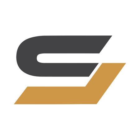 Initial SL letter logo vector template design. Linked letter LS logo design.