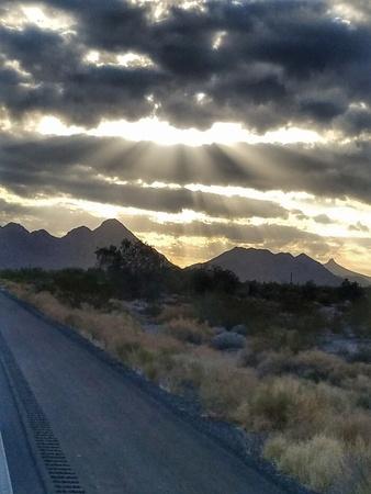 Paesaggio dell'Arizona