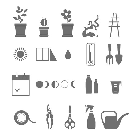 snag: Set of tools for flowers. Caring for houseplants.