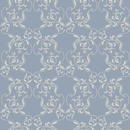 foliar: Floral seamless pattern. Vector Illustration.  Decorative background for cards, invitations, packaging, textiles, wallpapers. Illustration