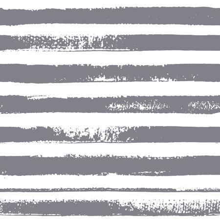 Brush stripes vector pattern.