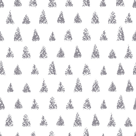 Seamless pattern of different triangles. Background with painted chalk triangles. texture.