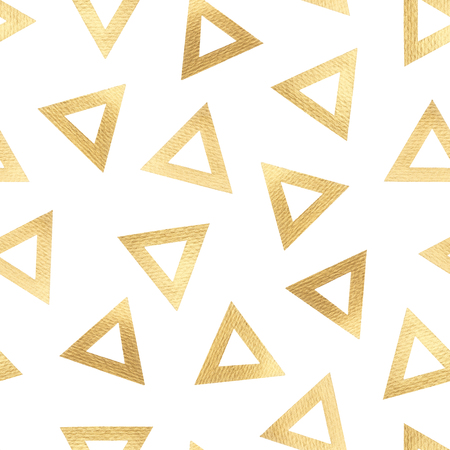 Seamless pattern of golden triangles.