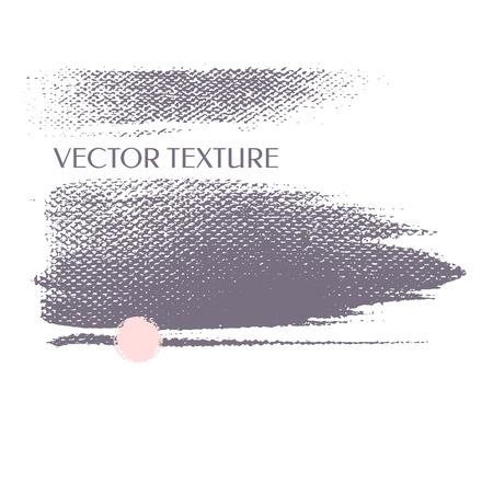 シルエットのストリップ。ベクトルのテクスチャです。インク - ブラシ大まかな芸術的なエッジ。グランジ背景。  イラスト・ベクター素材