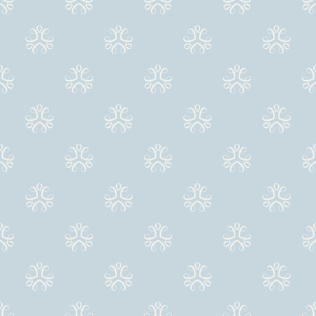 Seamless blue background for cards, invitations, textiles, wallpapers. Illustration