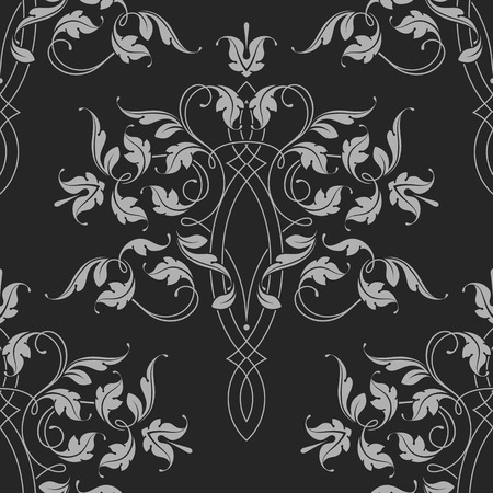 Seamless Pattern. Classical Ornament. Vector Illustration. Vectores