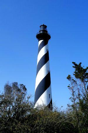 Cape Hatteras Lighthouse, Cape Hatteras Island, North Carolina Stock Photo