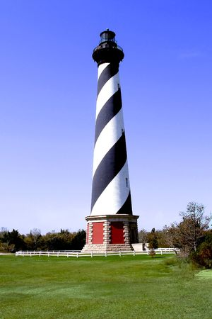 Cape Hatteras Lighthouse, Cape Hatteras Island, North Carolina Stock Photo - 478480