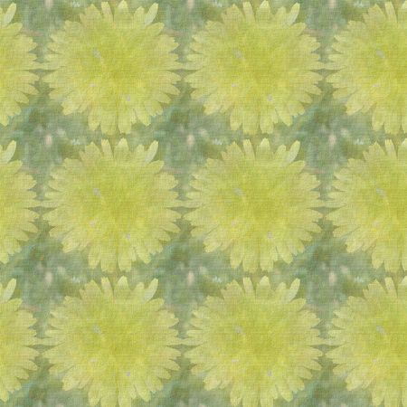 Dandelions tiled on square to create a background suitable for scrapbook paper and more.