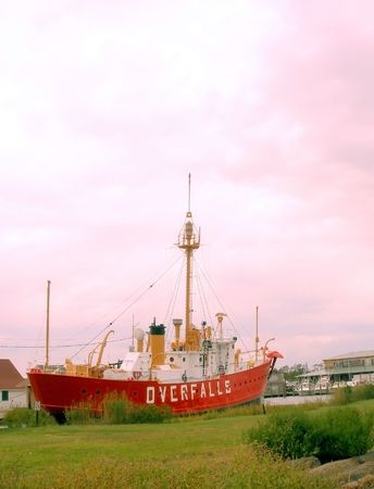 Photograph of the retired lightship