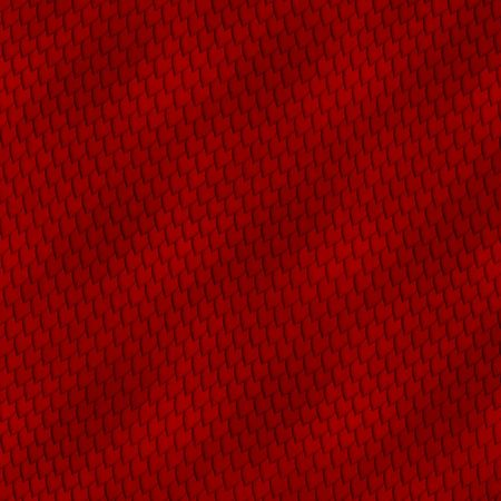 Red snakeskin abstract image for backgrounds or wallpaper.