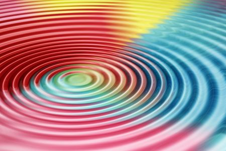 variegated: Colorful ripple patterned abstract image for backgrounds or wallpaper.