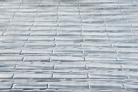 variegated: Background image that resembles wood flooring. Stock Photo