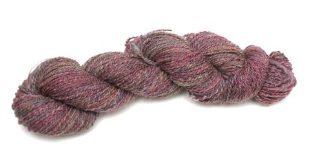 A Skein of Hand Spun Yarn Made From Merino Wool