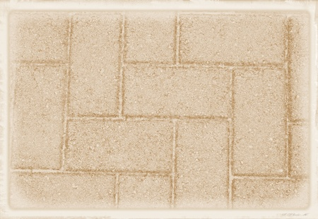 Brick abstract patterned background with faded white border.