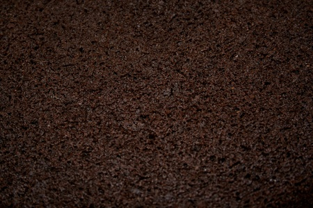 Close-up photograph of chocolate cake for use as an abstract background. Stok Fotoğraf