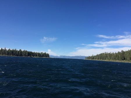 deep blue waters of lake tahoe