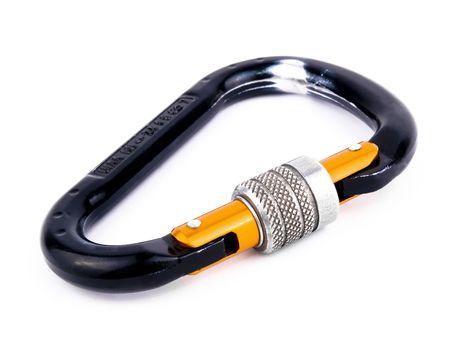 carbine: Specialistic climbing equipment - black carbine