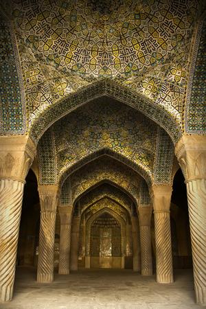 building feature: Vakil Mosque shiraz Iran