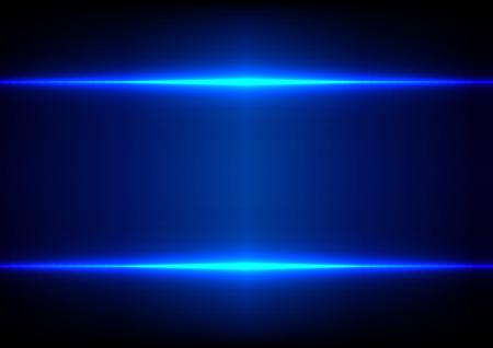 抽象的な青い光の効果の背景